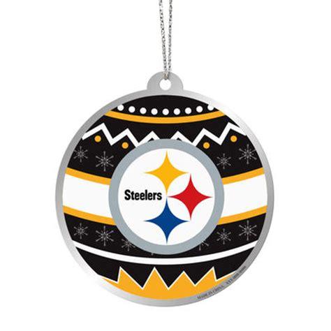 Pittsburgh Steelers Ornaments - pittsburgh steelers metal ornament fanatics