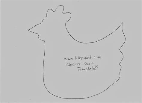 chicken template a tilly s nest quilt a sew a chicken quilt part one