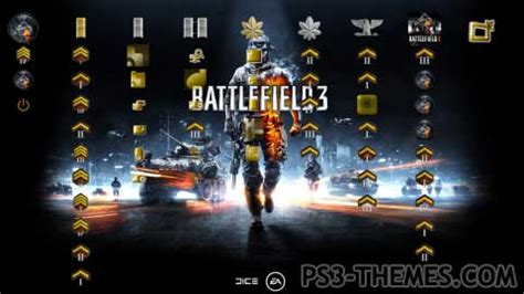 slideshow themes ps3 ps3 themes 187 battlefield 3 slide show