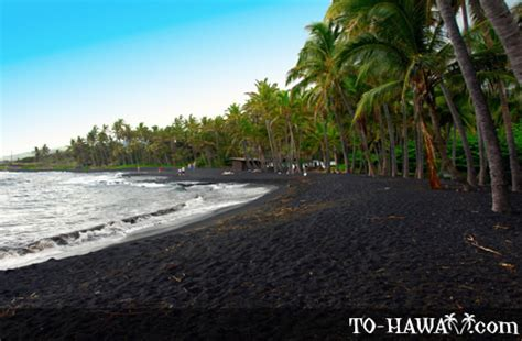 punaluu beach punaluu black sand beach big island