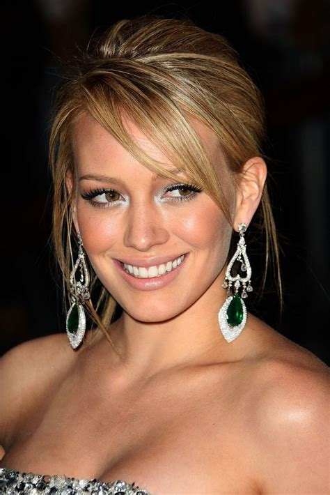 trend hairstyle hilary duff hairstyles with bangs