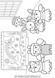 calico critters coloring pages calico critters coloring page sylvanian families005