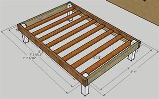 Simple Bed Frame Designs Simple Bed Frame By Luckysawdust Lumberjocks Woodworking Community Gt Oo