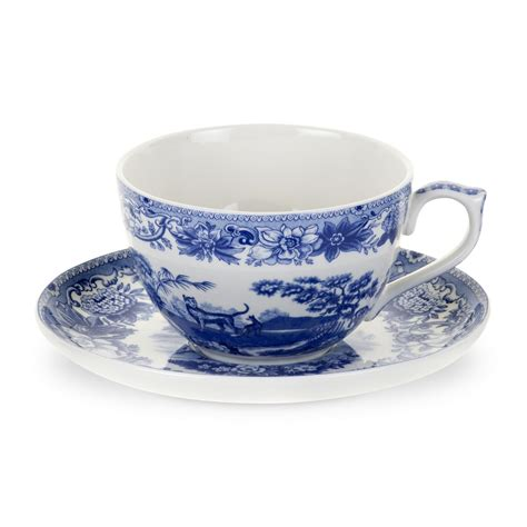 spode blue room jumbo cup and saucer spode jumbo cup and saucer aesop s fables spode uk