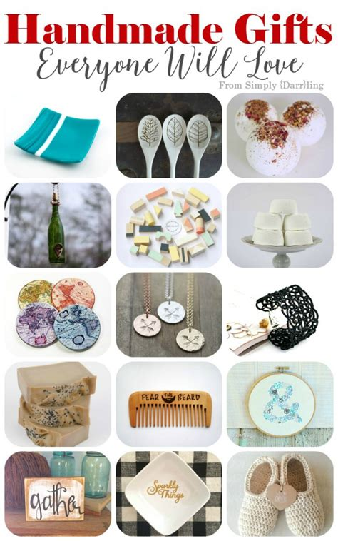 Etsy Handmade Gifts - handmade gifts from etsy that everyone will simply
