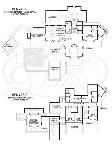 interactive home floor plans samsara estate villa benyasiri a villa in kamala