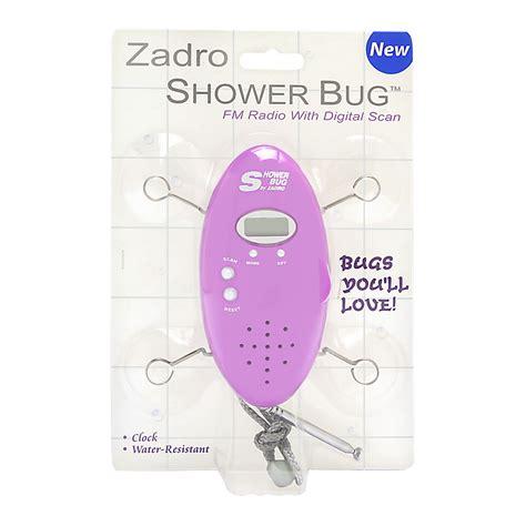 Zadro Shower Bug zadro shower bug fm radio model no sb01or orange