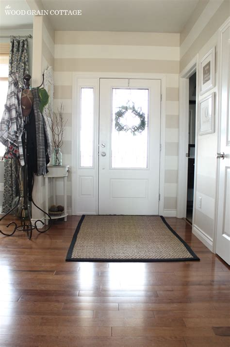 best rug for entryway entryway updates the wood grain cottage