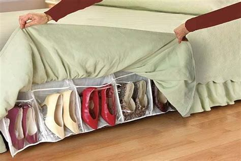 under bed shoe storage diy under bed storage decorating your small space