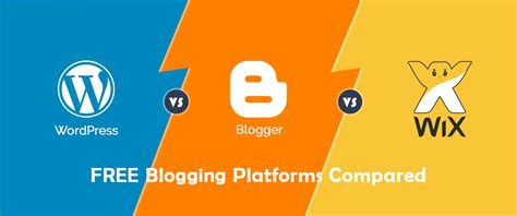 blogger vs blogspot wordpress vs blogger vs wix top 3 blogging platforms compared