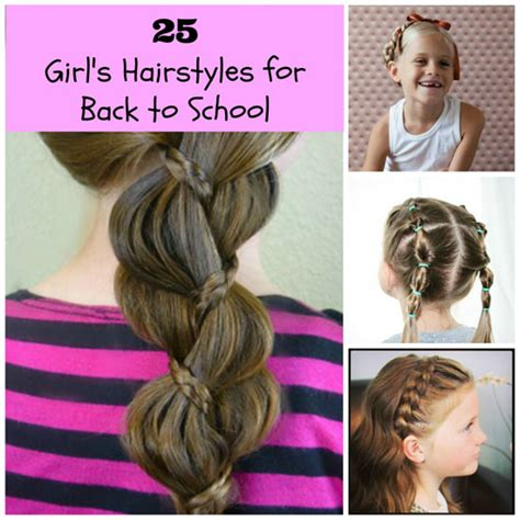 back to school hairstyles for hair hairstyles for school for