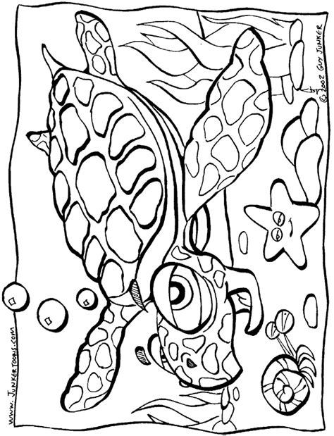 coloring page of under the sea under the sea coloring pages coloring home