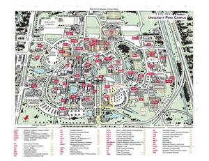 florida college map florida state cus map my