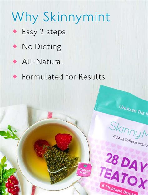 Tea Detox Review Skinnymint by The Ultimate Teatox Skinnymint