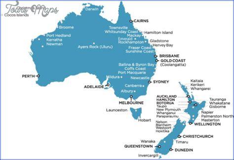 map of australia and nz map australia and new zealand toursmaps