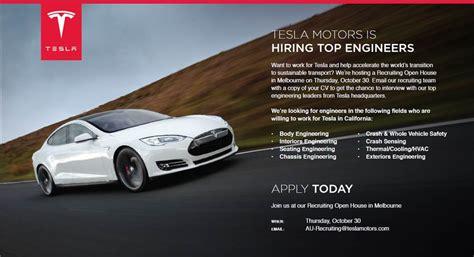 Tesla Recruiting Tesla Is For Aussie Engineering Talent Gizmodo