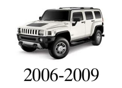 service manual how to unplug 2009 hummer h3 electrical pay for hummer h3 2006 2009 service repair manual download