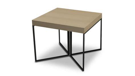 table basse hauteur 50 cm kufstein couleur bois pied m 233 tal