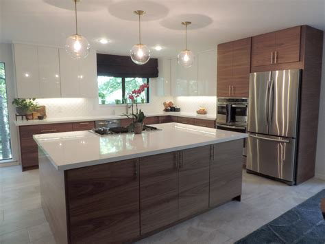 Contemporary Kitchen Island Ideas by This Mid Century Modern Ikea Kitchen Will Take Your Breath