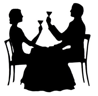 dinner silhouette 02 15 15 sunday eating out on special occasions