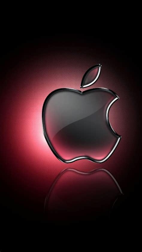 wallpaper apple hq red apple logo wallpaper wallpaper wide hd