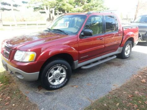 how cars run 2001 ford explorer engine control purchase used 2001 ford explorer sport trac 4x4 leather running boards 2 owner suv truck in