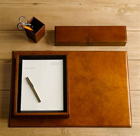 Leather Desk Accessories Leather Desk Accessories