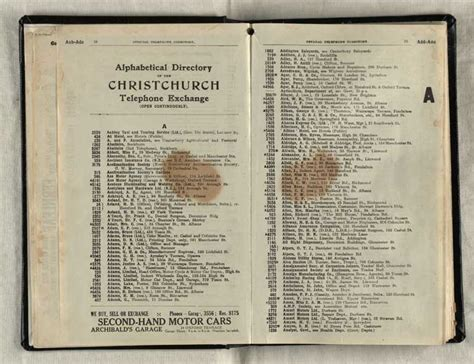 Phone Lookup New Zealand Telephone Directory Christchurch Digital Collection Christchurch City Libraries