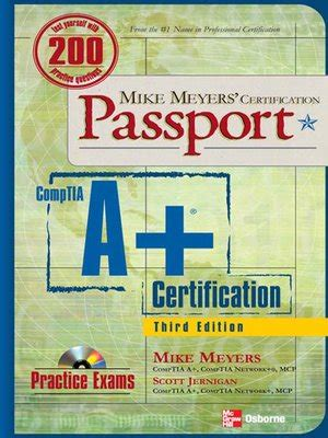portable edition series 183 overdrive ebooks audiobooks comptia a 174 certification passport by mike meyers