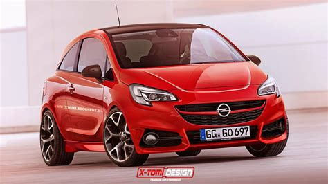 Nouvelle Opel Karl 2020 by All New 2015 Opel Corsa Opc Rendered Autoevolution