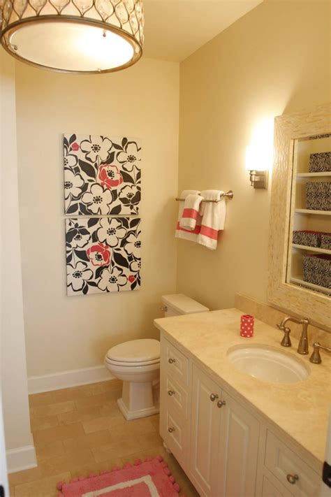 small 1 2 bathroom ideas small bathroom ideas on a budget hgtv