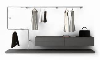 hanging rods for closets hanging closet rod by pianca snake modern