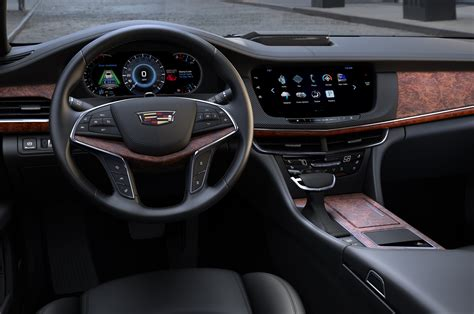 Cadillac Interior by 2016 Cadillac Ct6 Look Motor Trend