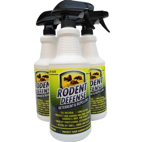 deterrent spray rodent defense all small animal repellent and detterent for rats squirrels