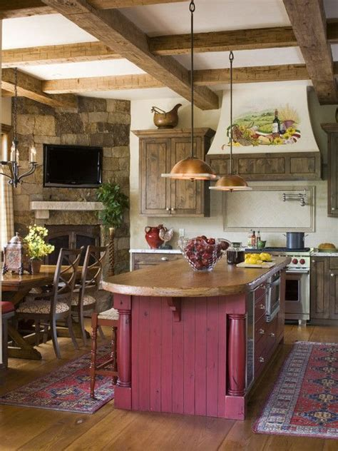 rustic country kitchens rustic country kitchen kitchen ideas pinterest