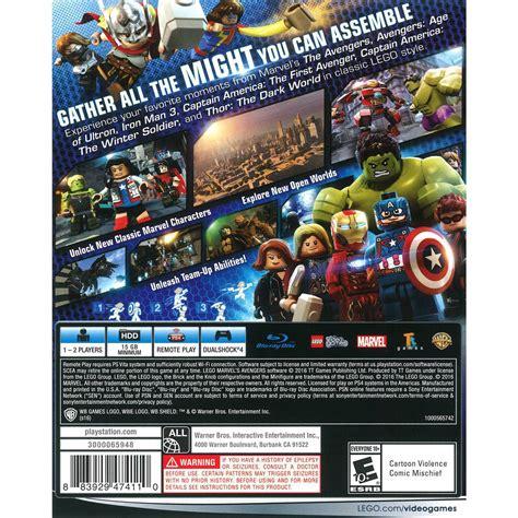 Kaset Bd Ps4 Lego Marvel Superheroes lego marvel images images wallpaper and free