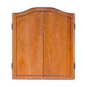 dmi solid pine dart board cabinet at hayneedle