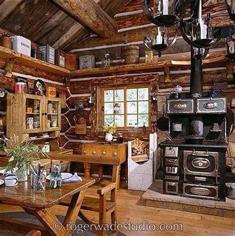 rustic cottage kitchens best 25 log cabin furniture ideas on