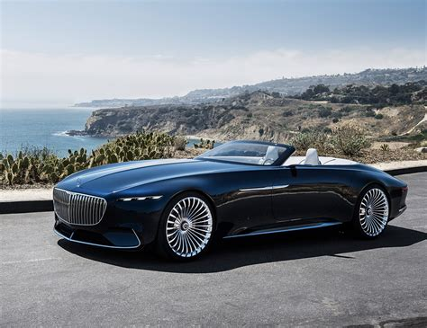 mercedes maybach vision mercedes maybach 6 cabriolet is a real land shark