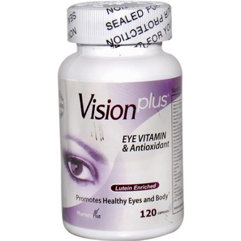 Vision Plus Visionplus Eye Vitamins 30 Capsule