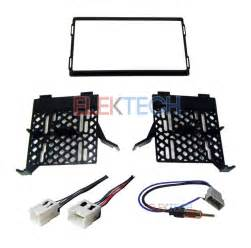 radio dash stereo mounting kit w harness antenna install for nissan frontier ebay
