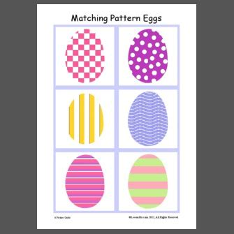 pattern matching coverage matching pattern eggs