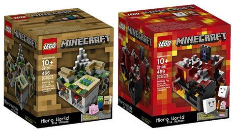 toys r us lego minecraft lego minecraft sets as low as 27 49