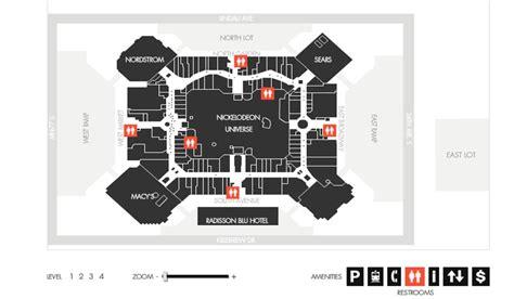 layout of mall of america final map visualization