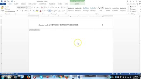how to write a short essay in apa style formats of headers