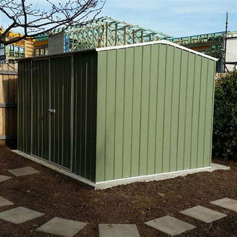 absco eco range garden shed mw  md  mh