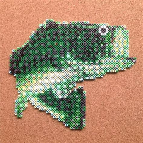 bead fishing perler fish and on