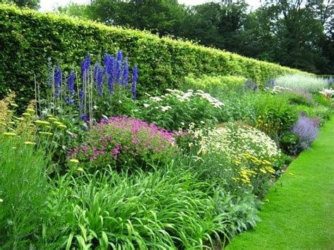 anglesey abbey herbaceous border garden design pinterest gardens delphiniums and