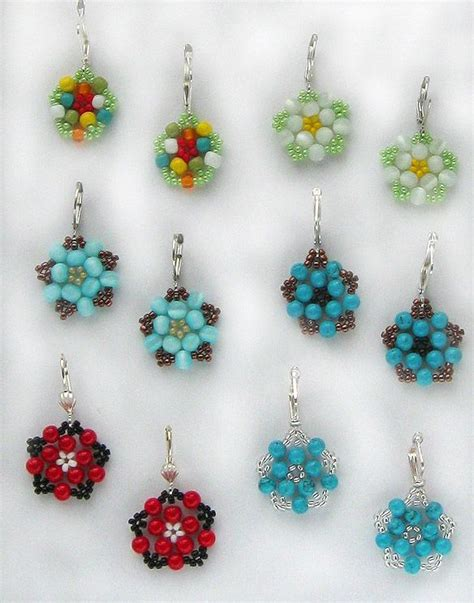 simple beading designs 43 best bead magic earrings images on bead