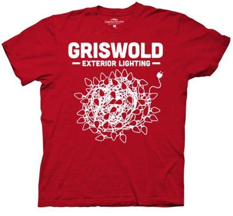 griswold vacation lights t shirt